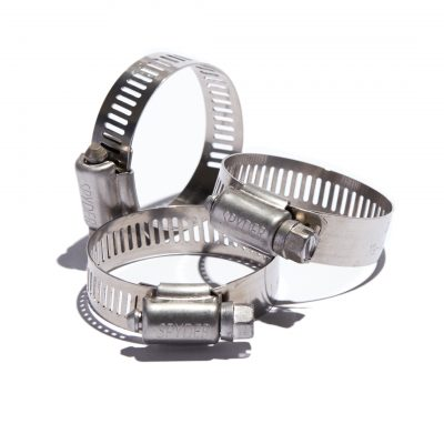 "Worm Gear Clamps 1/2"" Band Width All Stainless Steel"
